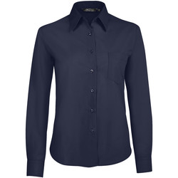 Oblečenie Ženy Košele a blúzky Sols EXECUTIVE POPELIN WORK Azul