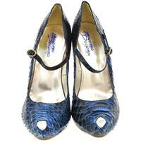 Topánky Ženy Lodičky John-C Dámske modré lodičky HELLY modrá