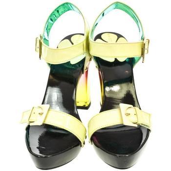 Topánky Ženy Sandále John-C Dámske zelené sandále TROI svetlozelená