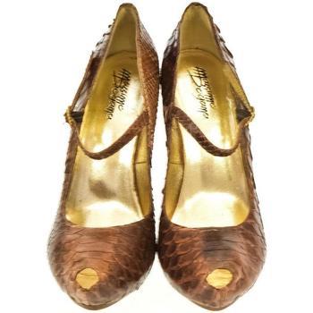 682c41dd1137 Topánky Ženy Lodičky John-C Dámske hnedé lodičky HELLY hnedá