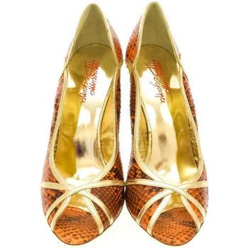 Topánky Ženy Lodičky John-C Dámske oranžové lodičky HELY oranžová