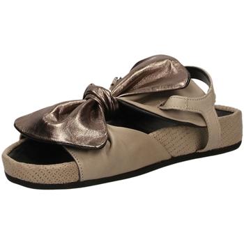 Topánky Ženy Sandále Fabbrica Dei Colli PLACE taupe-taupe