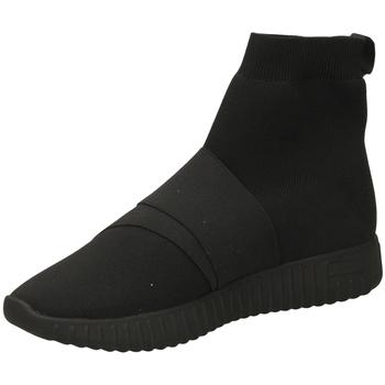 Topánky Ženy Členkové tenisky Fessura DINGHY KNIT black-nero