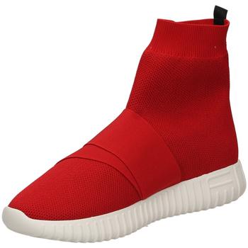 Topánky Ženy Členkové tenisky Fessura DINGHY KNIT red-rosso