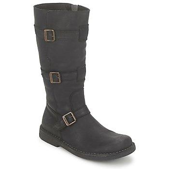 Topánky Ženy Čižmy do mesta Kickers LOCKNESS čierna