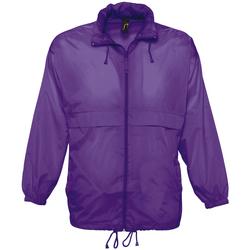 Oblečenie Vetrovky a bundy Windstopper Sols SURF REPELENT HIDRO violeta