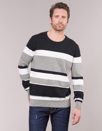 Oblečenie Muži Svetre Casual Attitude LORISS Čierna / Šedá