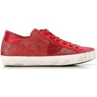 Topánky Ženy Nízke tenisky Philippe Model CLLD XM89 rosso