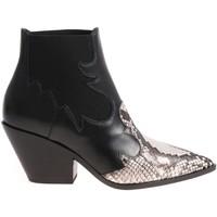 Topánky Ženy Čižmičky Casadei 1Q613L0601X496E45 nero