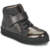 Topánky Dievčatá Nízke tenisky Unisa CALATA šedá / čierna
