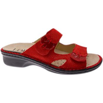 Topánky Ženy Šľapky Calzaturificio Loren LOM2772ro rosso
