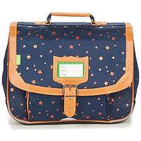 Tašky Dievčatá Školské tašky a aktovky Tann's ETOILE MARINE CARTABLE 35 CM Námornícka modrá