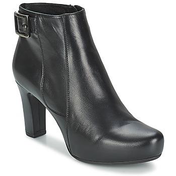 Topánky Ženy Nízke čižmy Unisa NAPUR čierna