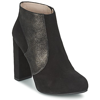 Topánky Ženy Čižmičky Unisa SAFIR Čierna