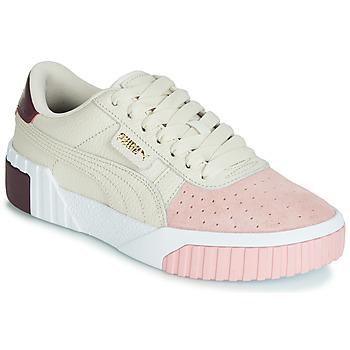 Topánky Ženy Nízke tenisky Puma CALI REMIX Biela / Ružová