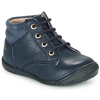 Topánky Chlapci Polokozačky Citrouille et Compagnie RATON.C Námornícka modrá