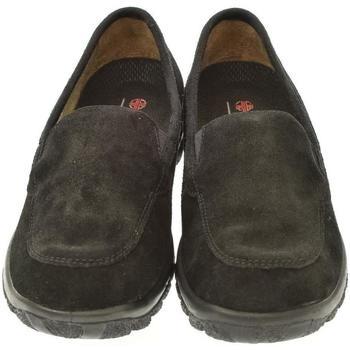 Topánky Ženy Mokasíny Mjartan Dámske kožené poltopánky  LINDA čierna