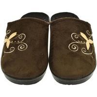 Topánky Ženy Papuče Mjartan Dámske papuče  CAMILIE 5 hnedá