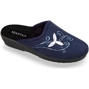 Topánky Ženy Papuče Mjartan Dámske papuče  CAMILIE 2 tmavomodrá