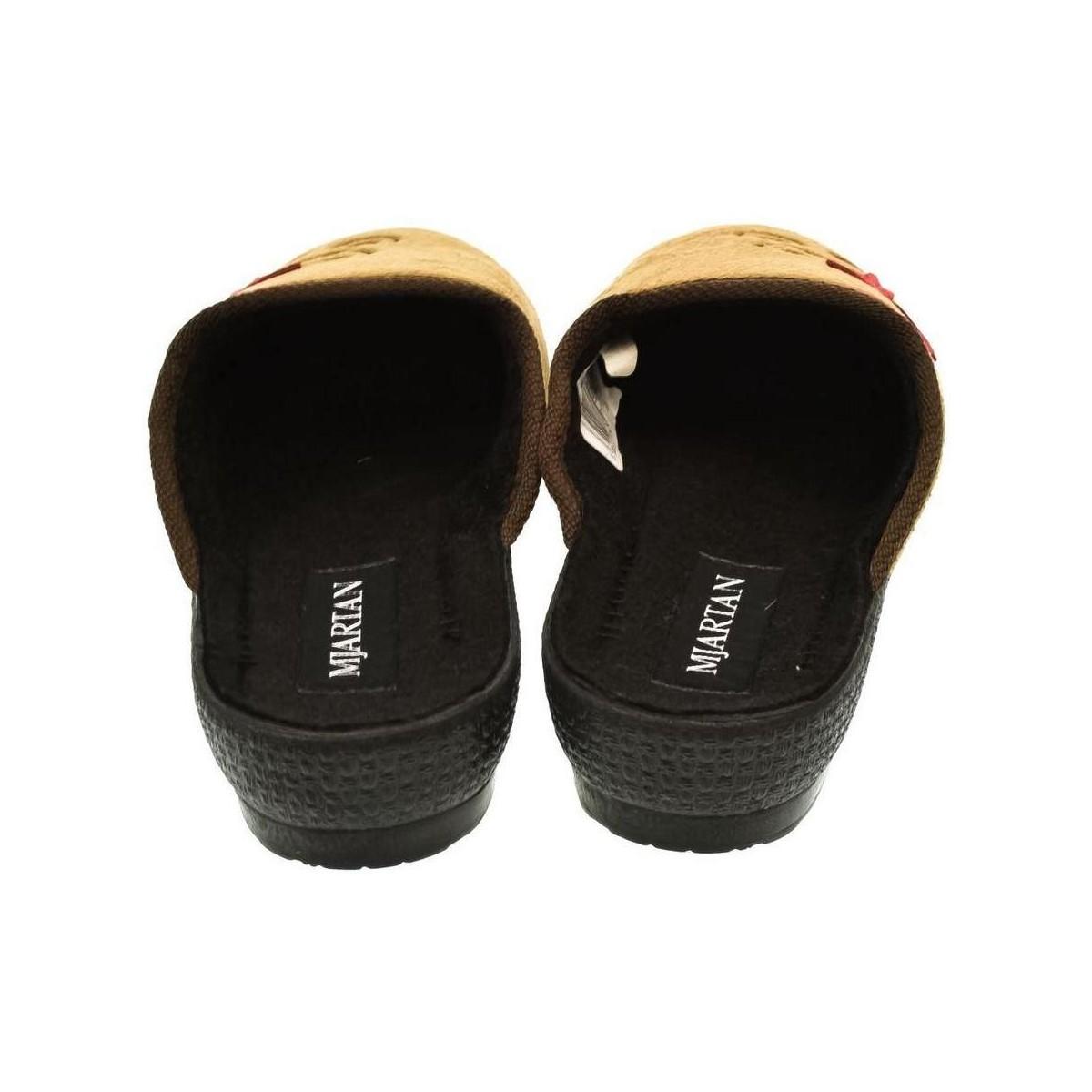 1577c082bc Mjartan Dámske papuče CAMILIE hnedá - Topánky Papuče Damy 9