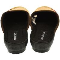 Topánky Ženy Papuče Mjartan Dámske papuče  CAMILIE hnedá