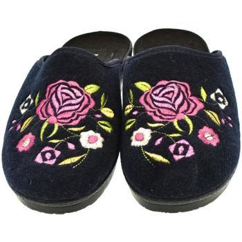 Topánky Ženy Papuče Mjartan Dámske papuče  CHAMYLE 2 tmavomodrá