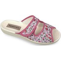 Topánky Ženy Šľapky Mjartan Dámske papuče  MARINA ružová