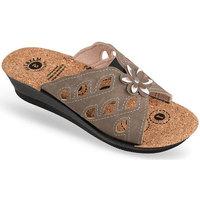 Topánky Ženy Šľapky Mjartan Dámske papuče  FILLY hnedá