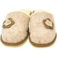 Topánky Ženy Papuče John-C Dámske béžové papuče 2FLOWERS béžová