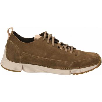 Topánky Muži Derbie Clarks TRI SPARK khaki