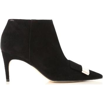 Topánky Ženy Čižmičky Sergio Rossi A80000 MCAZ01 1000 nero