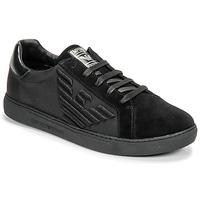 Topánky Muži Nízke tenisky Emporio Armani X4X279-XM035-A085 Čierna