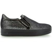 Topánky Ženy Slip-on Geox Hidence Čierna
