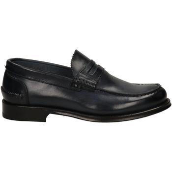 Topánky Muži Mokasíny Brecos VITELLO blu