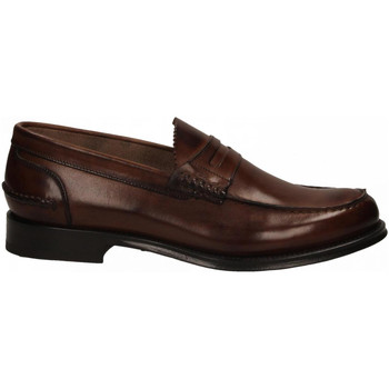 Topánky Muži Mokasíny Brecos VITELLO brandy