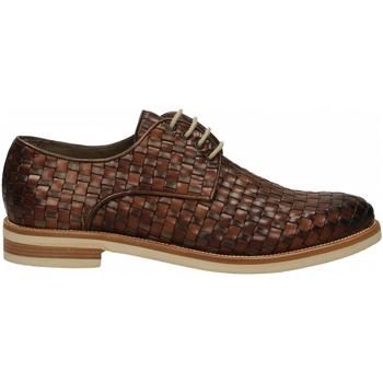 Topánky Muži Derbie Brecos VITELLO taupe-brandy