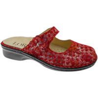 Topánky Ženy Šľapky Calzaturificio Loren LOM2709ro rosso