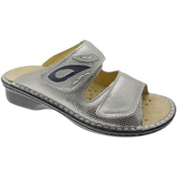Topánky Ženy Šľapky Calzaturificio Loren LOM2724ar grigio