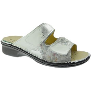 Topánky Ženy Šľapky Calzaturificio Loren LOM2768bi grigio