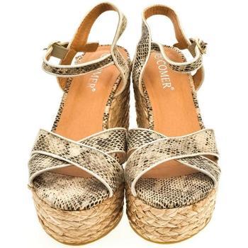 Topánky Ženy Sandále Comer Dámske hadie sandále SNAKE zelená