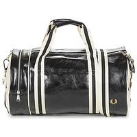 Tašky Muži Športové tašky Fred Perry CLASSIC BARREL BAG Čierna