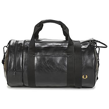 Tašky Muži Športové tašky Fred Perry TONAL BARREL BAG Čierna
