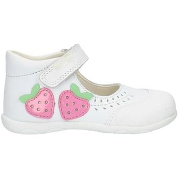 Topánky Dievčatá Balerínky a babies Pablosky 001600 White