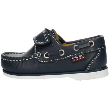 Topánky Chlapci Námornícke mokasíny Pablosky 121920 Blue