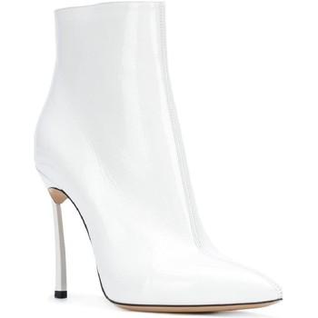 Topánky Ženy Polokozačky Casadei 1Q618L100TRAIN900 bianco