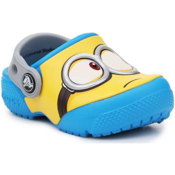 Topánky Deti Nazuvky Crocs Crocsfunlab Minions Clog 204113-456 yellow, blue