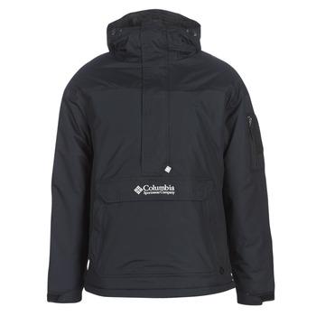 Oblečenie Muži Bundy  Columbia CHALLENGER PULLOVER Čierna