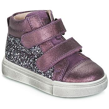 Topánky Dievčatá Členkové tenisky Acebo's 5299AV-LILA-C Fialová
