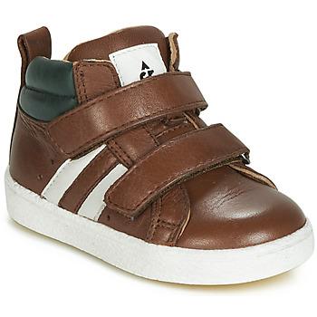 Topánky Chlapci Členkové tenisky Acebo's 3040-CUERO-C Hnedá
