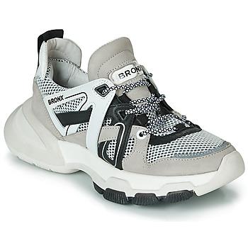Topánky Ženy Nízke tenisky Bronx SEVENTY STREET Šedá / Biela / Čierna